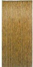 Rideau en batonnets de bambou vernis