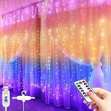 Rideau lumineux féerique à LED, 3M, avec