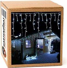 Rideau lumineux - Guirlande lumineuse de Noël 24