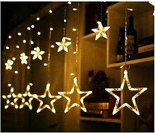 Rideau lumineux LED Perle rare pour intérieur et