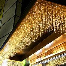 Rideau lumineux LED pour noël, 5M, 0.4-0.6m,