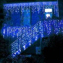 Rideau lumineux pour décoration noël - 216 LED -
