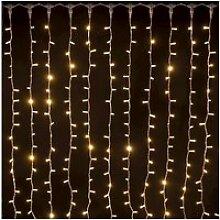 Rideau lumineux raccordable noël ixia - 2 x 1,5