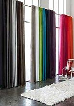 Rideau polyester à pattes 140/260 Bambou
