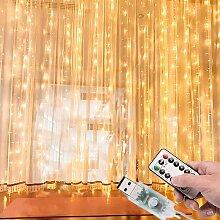 Rideau rideau lumineux décoration de nuit rideau