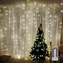 Rideau rideau lumineux décoration nuit rideau
