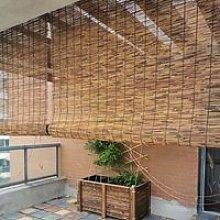 RIDEAU ZXLL Store Enrouleur Bambou,Mode Haut De