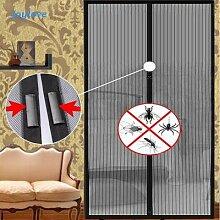 Rideaux anti-moustiques, filet magnétique,