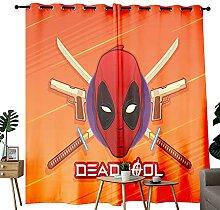 Rideaux de chambre à coucher Deadpool -