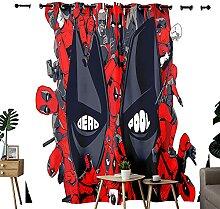 Rideaux de chambre à coucher Deadpool, motif