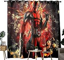Rideaux occultants pour dominer Deadpool Art