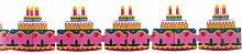 Riethmüller 2726–Guirlande avec gâteau