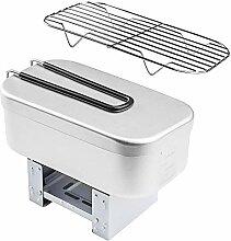 Riiai Mini réchaud pliable - Boîte à repas -