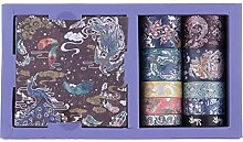RisyPisy Washi Tape Gift Box Set, Angel Beast
