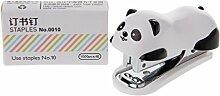 RK-HYTQWR Mini Panda Agrafeuse Set Reliure Papier