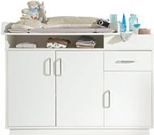 Roba commode à langer 'nordic weiss'