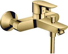 Robinet de baignoire mitigeur doré Visto Hansgrohe