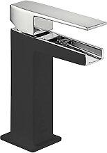 Robinet de lavabo Cascade Noir SLIM TRES