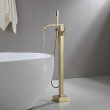 Robinet mitigeur de baignoire & douchette sur pied