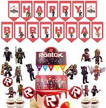 Roblox Fournitures de fête à thème Roblox -