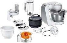 Robot multifonctions Kitchen Machine 1000 W blanc