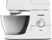 Robot pâtissier - KENWOOD KVC3173W Chef - Blanc -