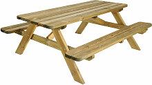ROBUSTE - Table pique-nique - L. 180 cm