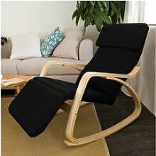 Rocking chair fauteuil à bascule avec