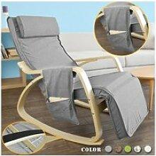 Rocking chair fauteuil à bascule berçante avec