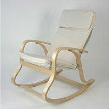 Rocking-chair fauteuil a bascule relaxant en