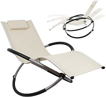 Rocking Lounger chaise longue pliable chaise