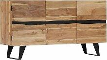 Rogal buffet 150 x 40 x 79 cm bois d'acacia