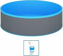 Rogal piscine avec écumoire suspendue et pompe