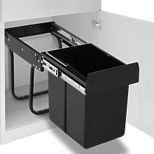 Rogal poubelle amovible de cuisine fermeture en
