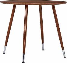 Rogal table de salle à manger marron 90x73,5 cm