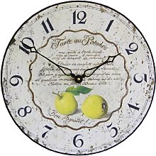 Roger Lascelles Horloge Murale Horloge de Cuisine,
