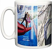 Roger Moore James Bond A View to A Kill Tasse en