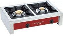 ROLLER GRILL Réchaud à gaz 2 feux - 14 kW