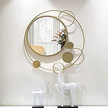 ROM Products Miroir Mural décoratif en métal,