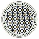 Rond Bistrotisch En Maroc Table Mosaïque de
