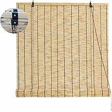 Roseau Fait Main Store À Enrouleur En Bambou