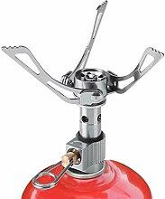 ROSEBEAR Mini réchaud à gaz portable en acier