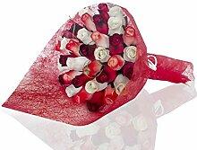Roses éternelles en bois   Bouquet Siri   Beau
