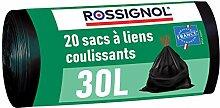 ROSSIGNOL - Sacs Poubelle - 20 Sacs - 30L - Made