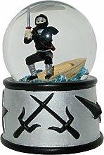 Rotary Héros Ninja Boule à Neige avec Son, en