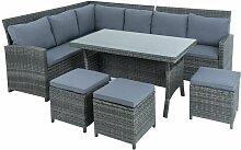 Rotin meubles de salon lot de table Sofa ensemble