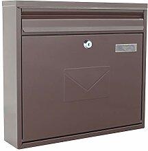 Rottner Teramo Grande boîte aux lettres à double