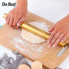 Rouleau à pâtisserie en acier inoxydable, 1