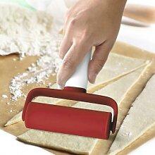 Rouleau à pâtisserie en plastique écologique,