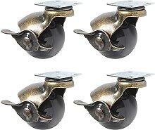 Roulettes pivotantes 4pcs Capacité de charge 30kg